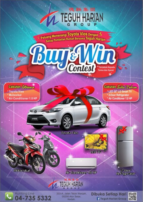 Congratulations to our winners for the First draw held at Jitra Mall on 15th July 2017…