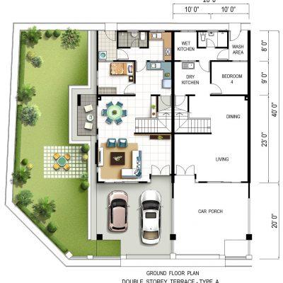 Ds Terrace Type A ( G ) L
