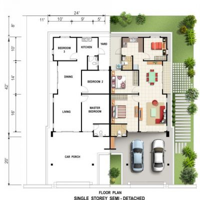 Semi_D_Floorplan