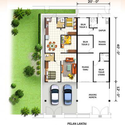Terrace A Plan