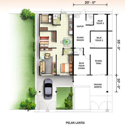 Terrace B Plan