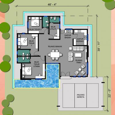 Banglo plan