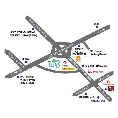 Teman Teja3 Location Map